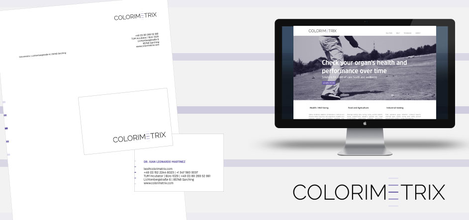 Corporate Design colorimetrix