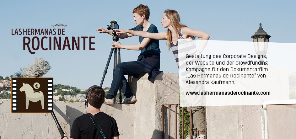 Corporate Design, Website und Werbemittel für einen Dokumentarfilm